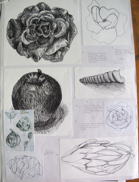 annotating art coursework Gcse art annotation guide form, colour, pattern, composition, mood, media get into the habit of annotating every piece of work you do in your sketchbook.